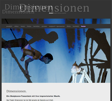 Dimensionen. Performance.